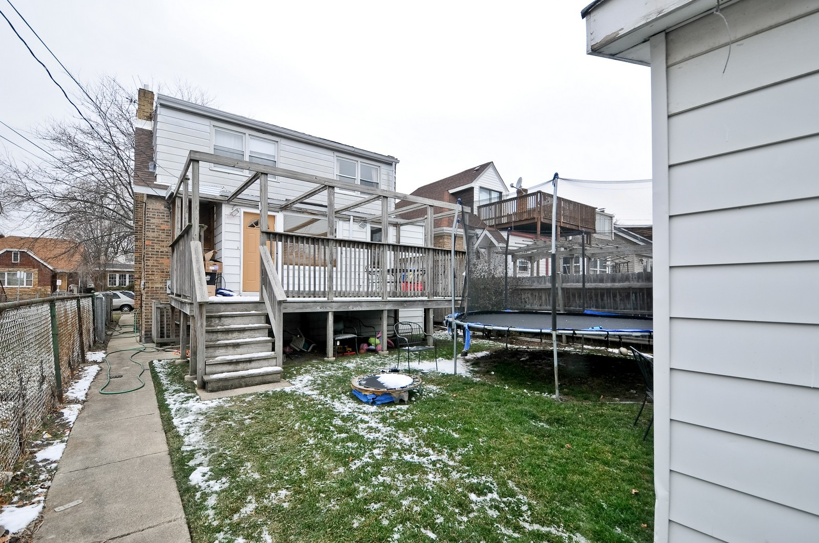 Real Estate Photography - 6605 N Whipple St, Chicago, IL, 60645 - Rear View