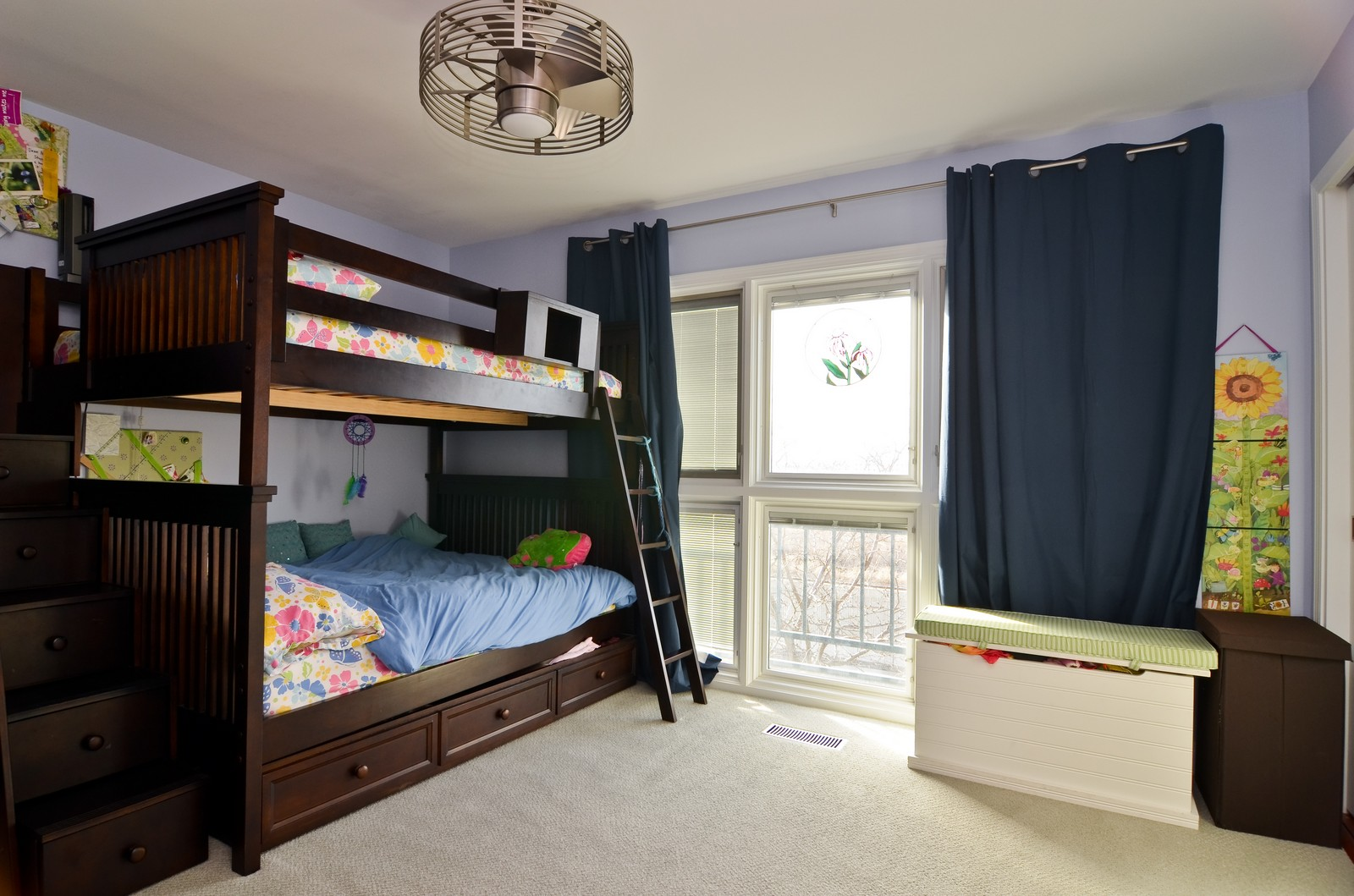 Real Estate Photography - 1347 S Clark, Chicago, IL, 60605 - 2nd Bedroom