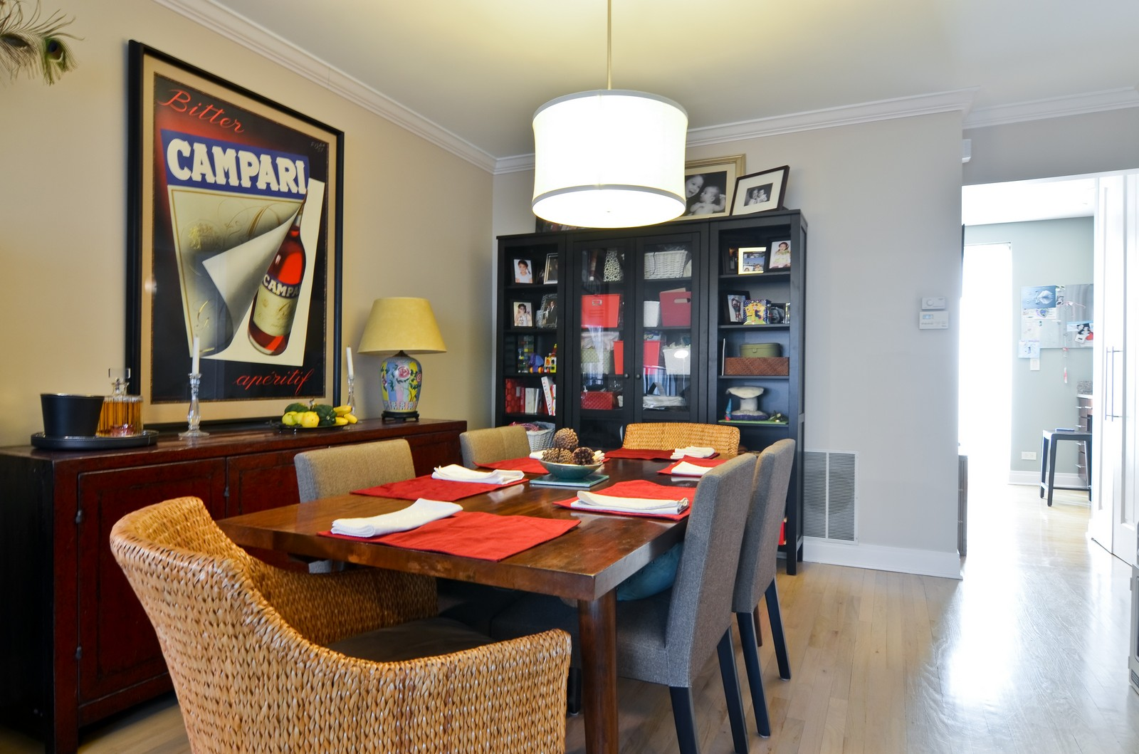 Real Estate Photography - 1347 S Clark, Chicago, IL, 60605 - Dining Room