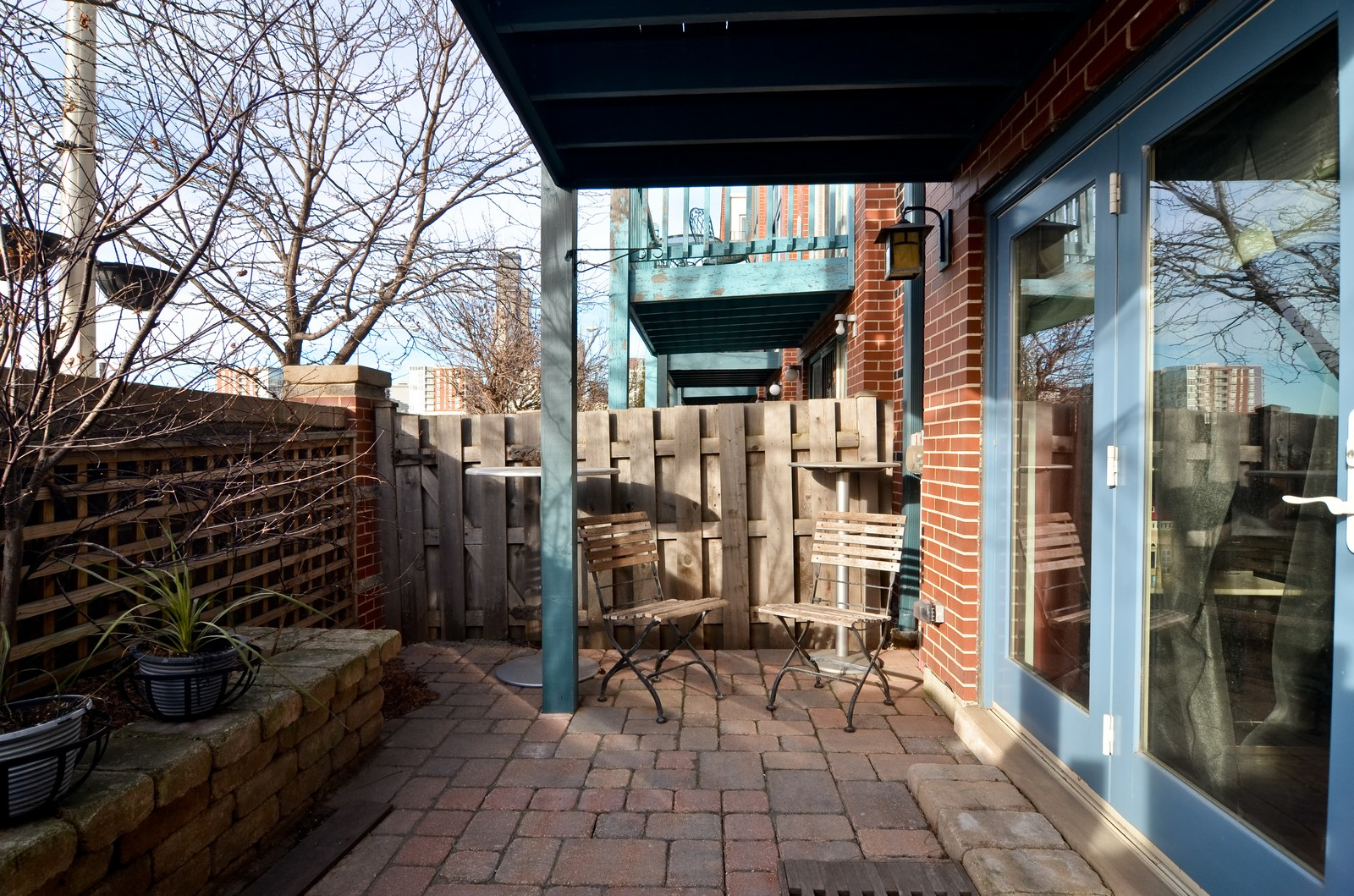 Real Estate Photography - 1347 S Clark, Chicago, IL, 60605 - Patio