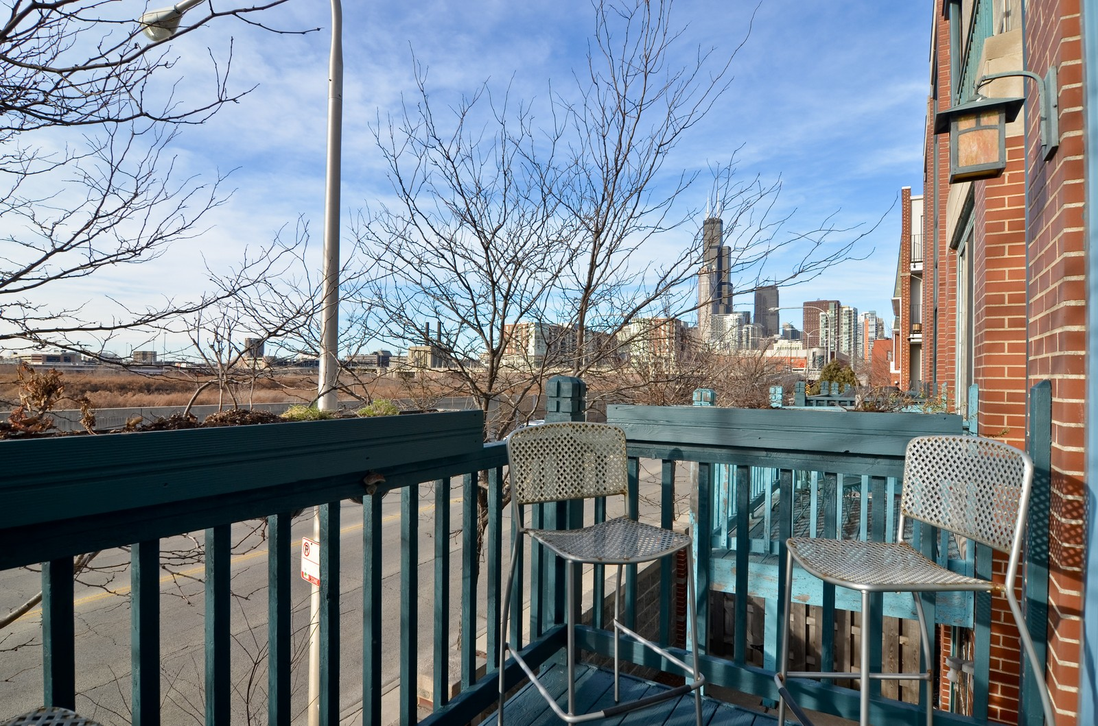 Real Estate Photography - 1347 S Clark, Chicago, IL, 60605 - Balcony