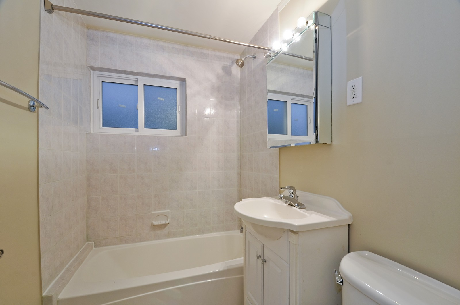 Real Estate Photography - 2741 Chase, Chicago, IL, 60645 - Bathroom