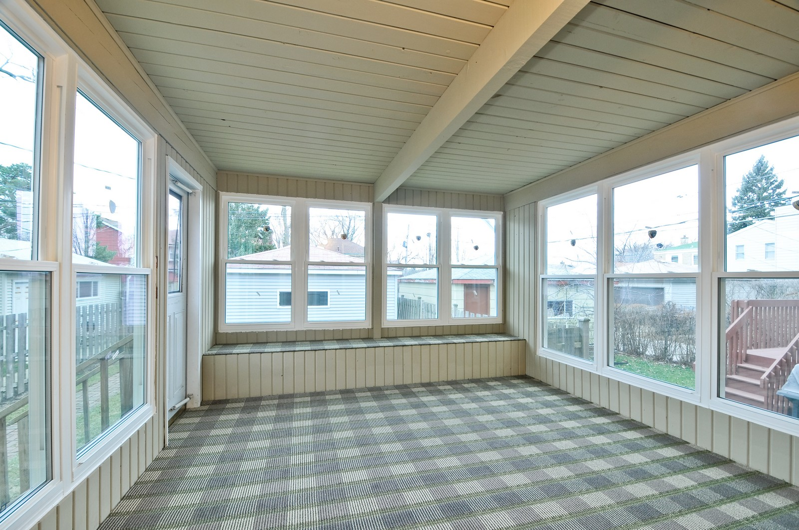 Real Estate Photography - 2741 Chase, Chicago, IL, 60645 - Sun Room