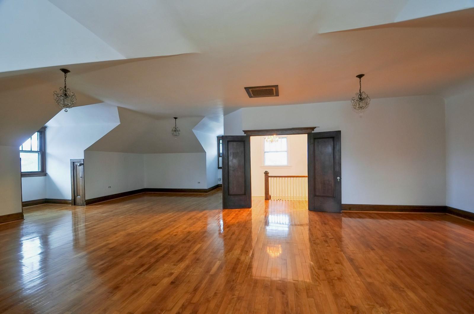Real Estate Photography - 2226 W Pratt, Chicago, IL, 60645 - Ballroom