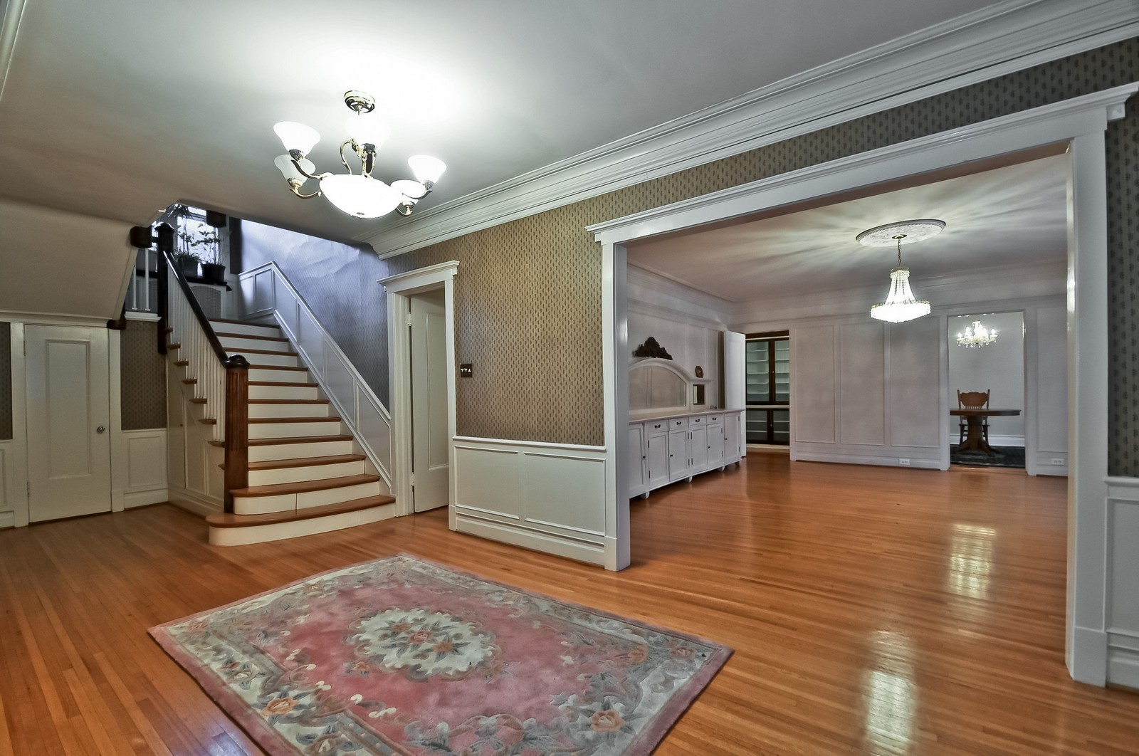 Real Estate Photography - 2226 W Pratt, Chicago, IL, 60645 - Foyer