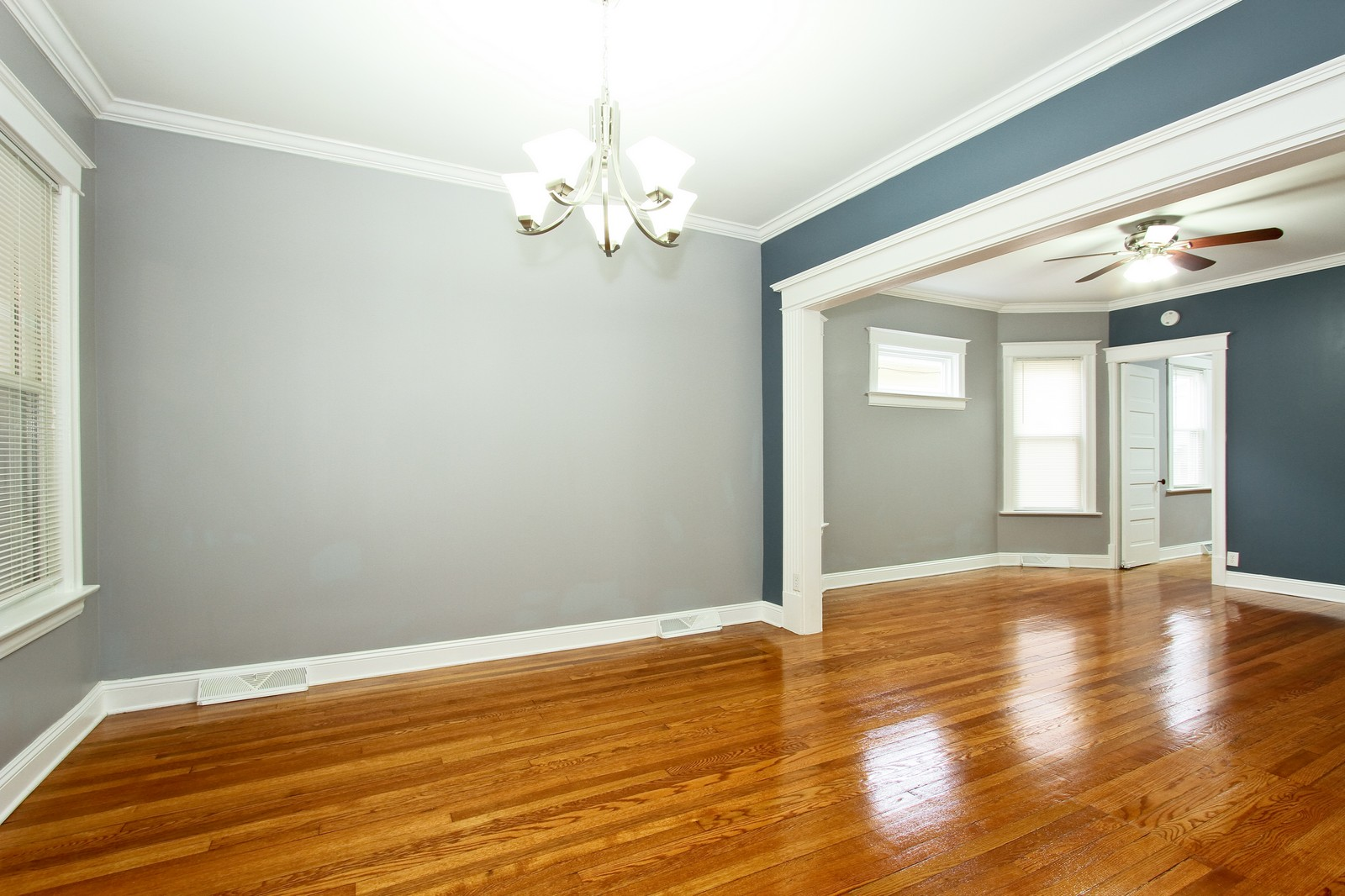 Real Estate Photography - 11838 S Wallace, Chicago, IL, 60628 - Living Room / Dining Room