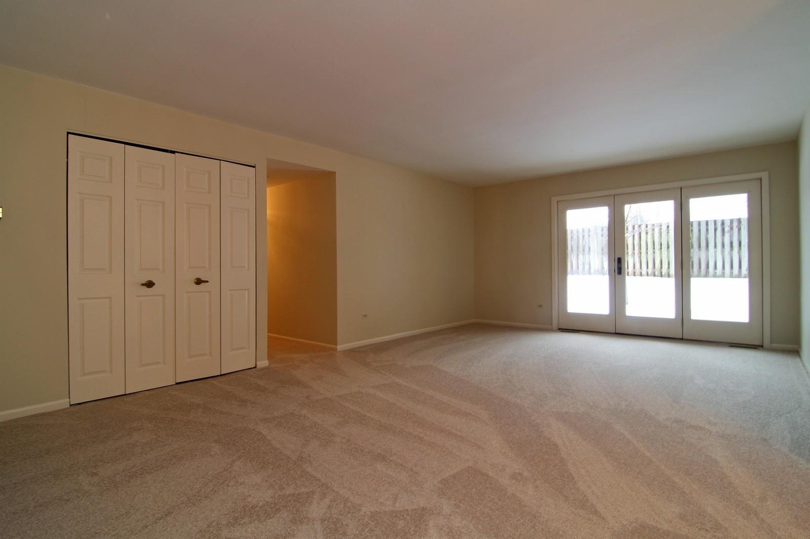 Real Estate Photography - 524 Banyon, Unit A, La Grange, IL, 60525 - Living Room