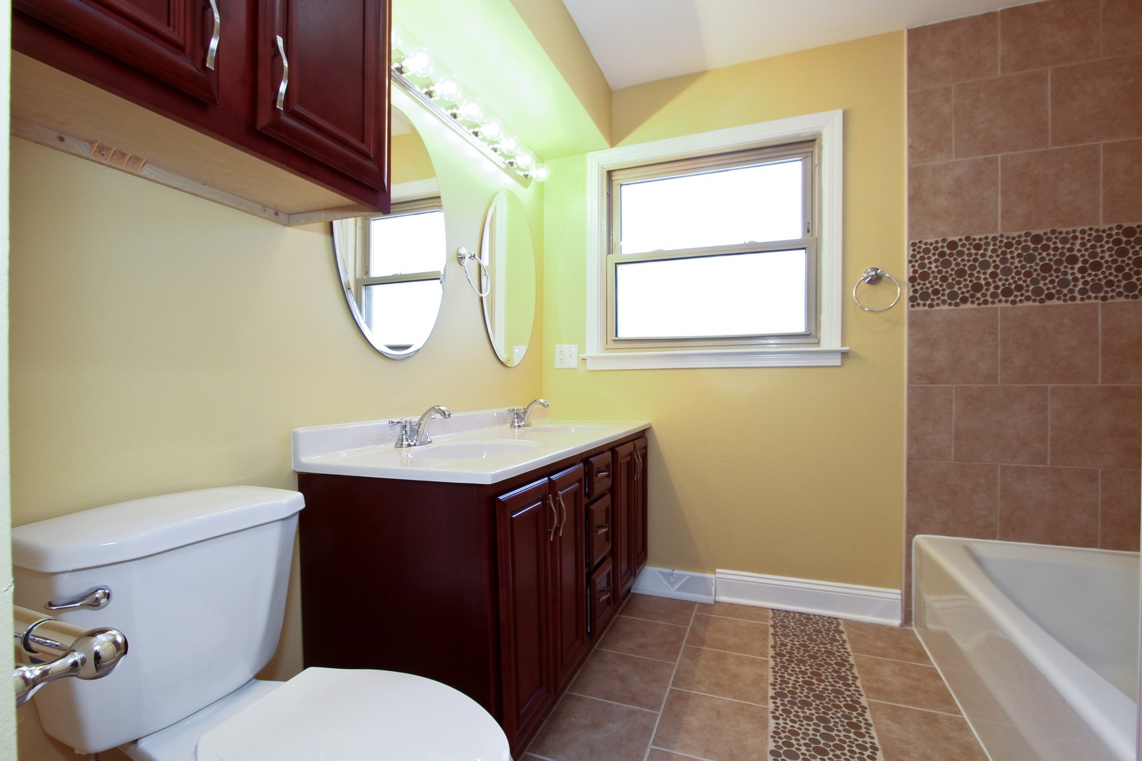Real Estate Photography - 15435 Sunset, Dolton, IL, 60419 - Master Bathroom