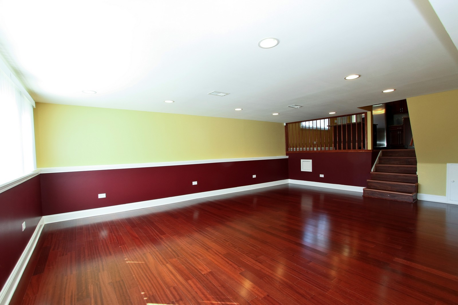 Real Estate Photography - 15435 Sunset, Dolton, IL, 60419 - Family Room