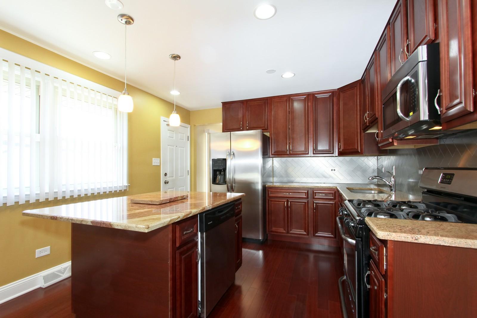 Real Estate Photography - 15435 Sunset, Dolton, IL, 60419 - Kitchen