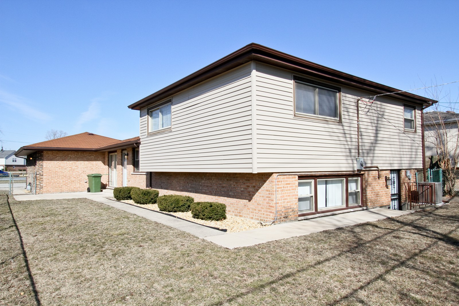 Real Estate Photography - 15435 Sunset, Dolton, IL, 60419 - Rear View