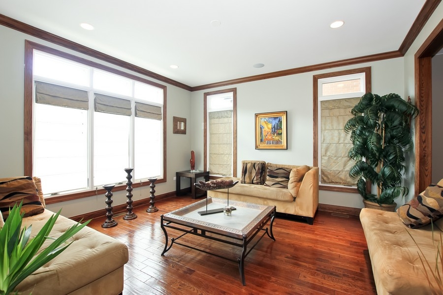 Real Estate Photography - 1407 S Emerald, Chicago, IL, 60607 - Living Room