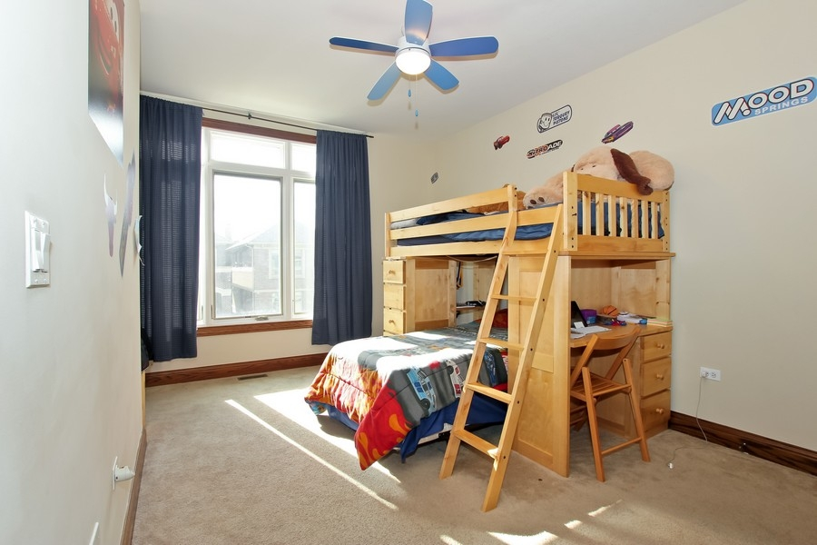 Real Estate Photography - 1407 S Emerald, Chicago, IL, 60607 - 3rd Bedroom