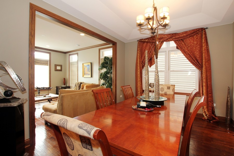 Real Estate Photography - 1407 S Emerald, Chicago, IL, 60607 - Dining Room