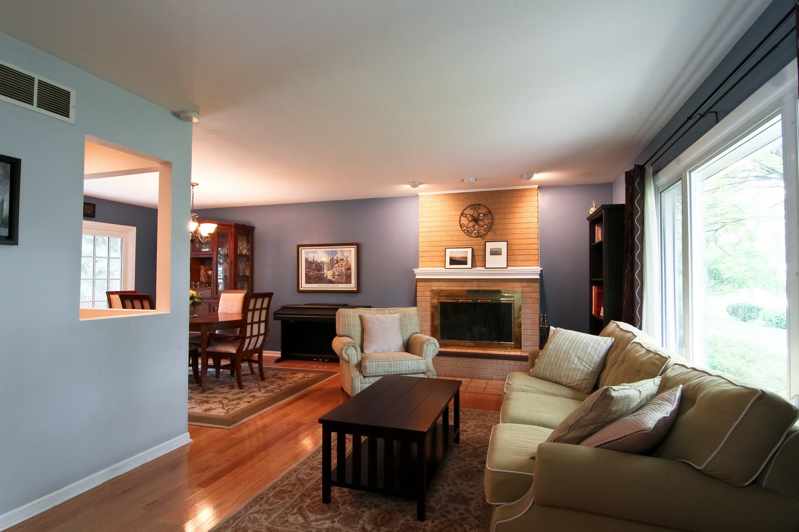 Real Estate Photography - 742 Claremont Drive, Downers Grove, IL, 60516 - Living Room