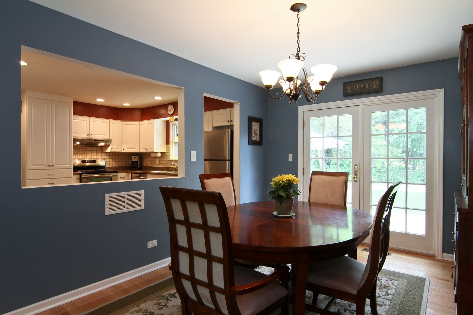 Real Estate Photography - 742 Claremont Drive, Downers Grove, IL, 60516 - Dining Room