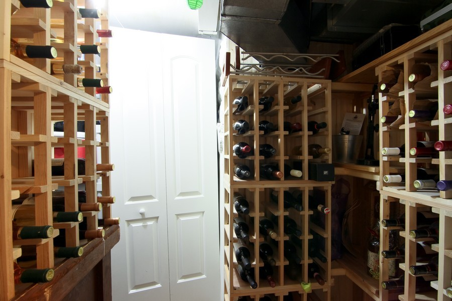 Real Estate Photography - 4733 Stonewall Avenue, Downers Grove, IL, 60515 - Wine Cellar