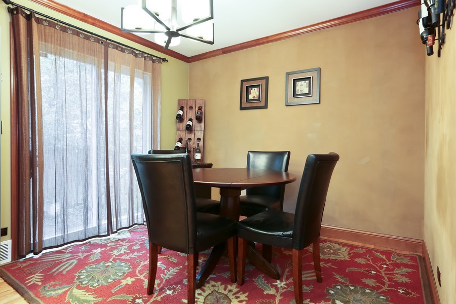 Real Estate Photography - 4733 Stonewall Avenue, Downers Grove, IL, 60515 - Breakfast Area