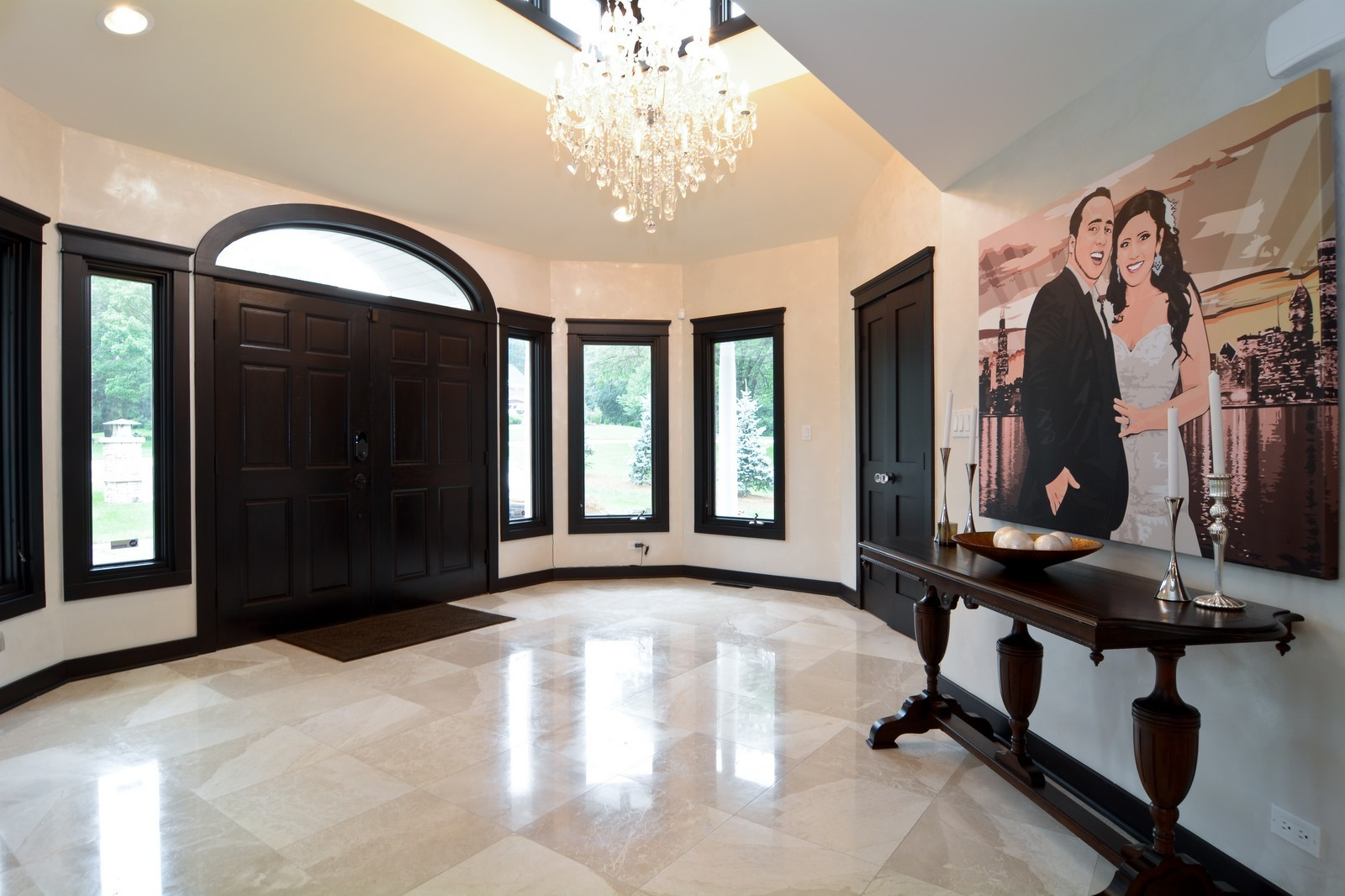 Real Estate Photography - 2S611 Arboritumn, Glen Ellyn, IL, 60137 - Foyer