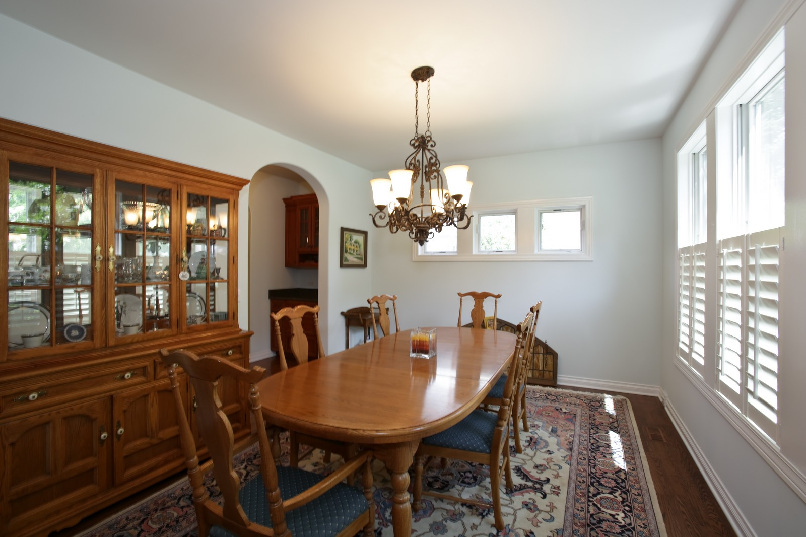 Real Estate Photography - 4740 Saratoga, Downers Grove, IL, 60515 - Dining Room