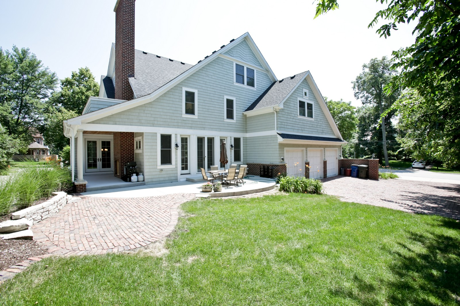 Real Estate Photography - 4740 Saratoga, Downers Grove, IL, 60515 - Rear View