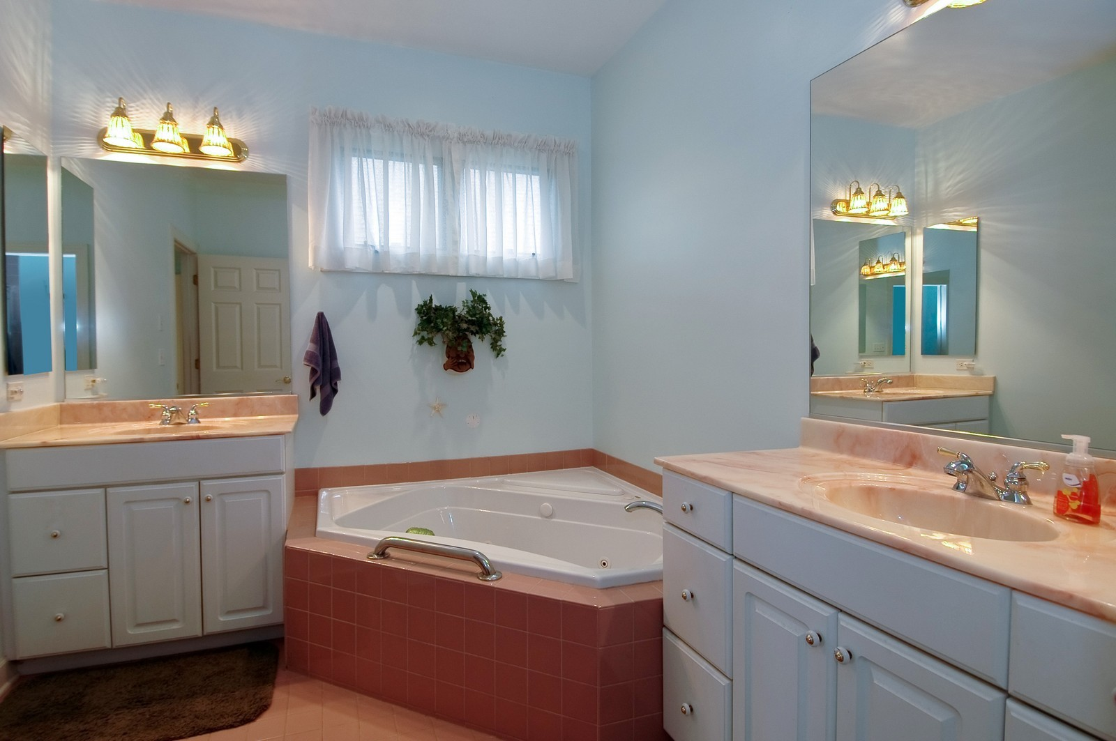 Real Estate Photography - 210 Course Dr, Lake in the Hills, IL, 60156 - Master Bathroom