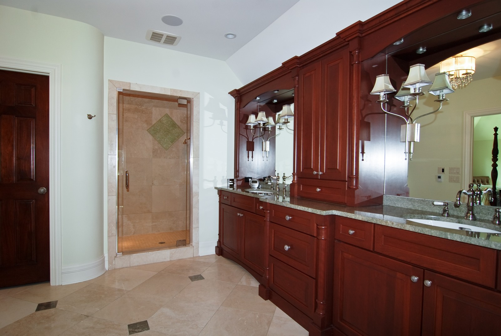 Real Estate Photography - 1105 Park Ave, River Forest, IL, 60305 - Master Bathroom