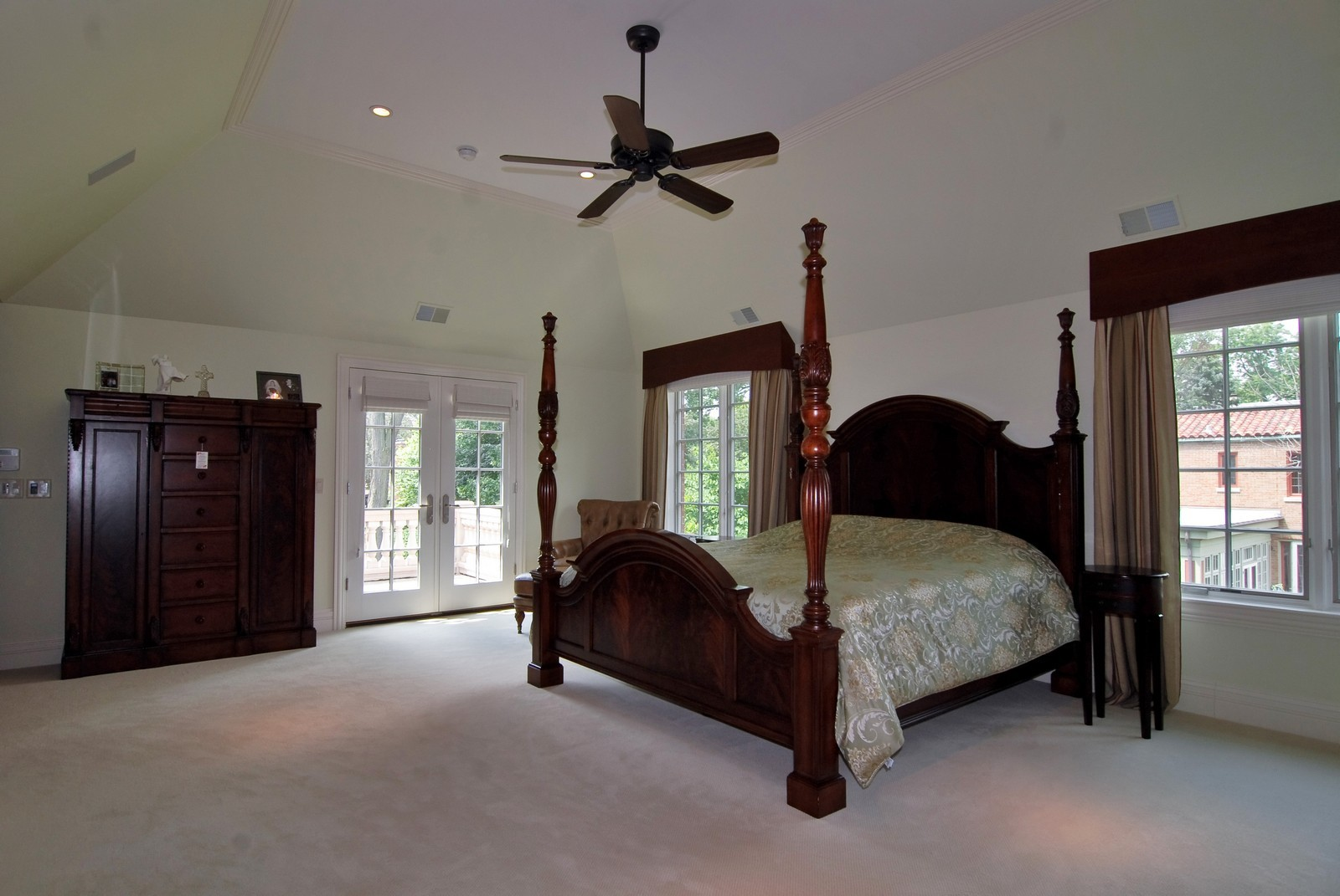 Real Estate Photography - 1105 Park Ave, River Forest, IL, 60305 - Master Bedroom