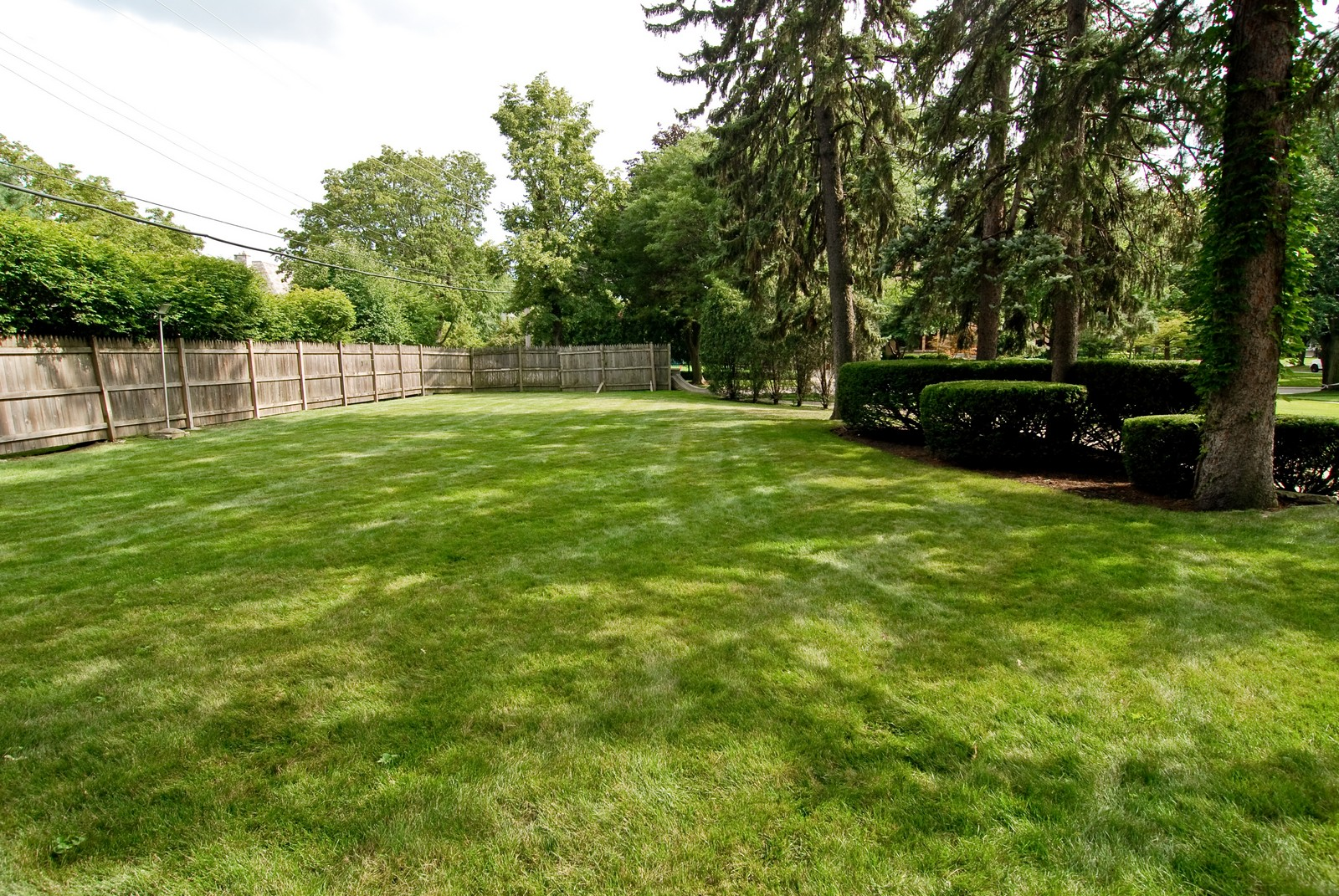 Real Estate Photography - 1105 Park Ave, River Forest, IL, 60305 - Side Yard