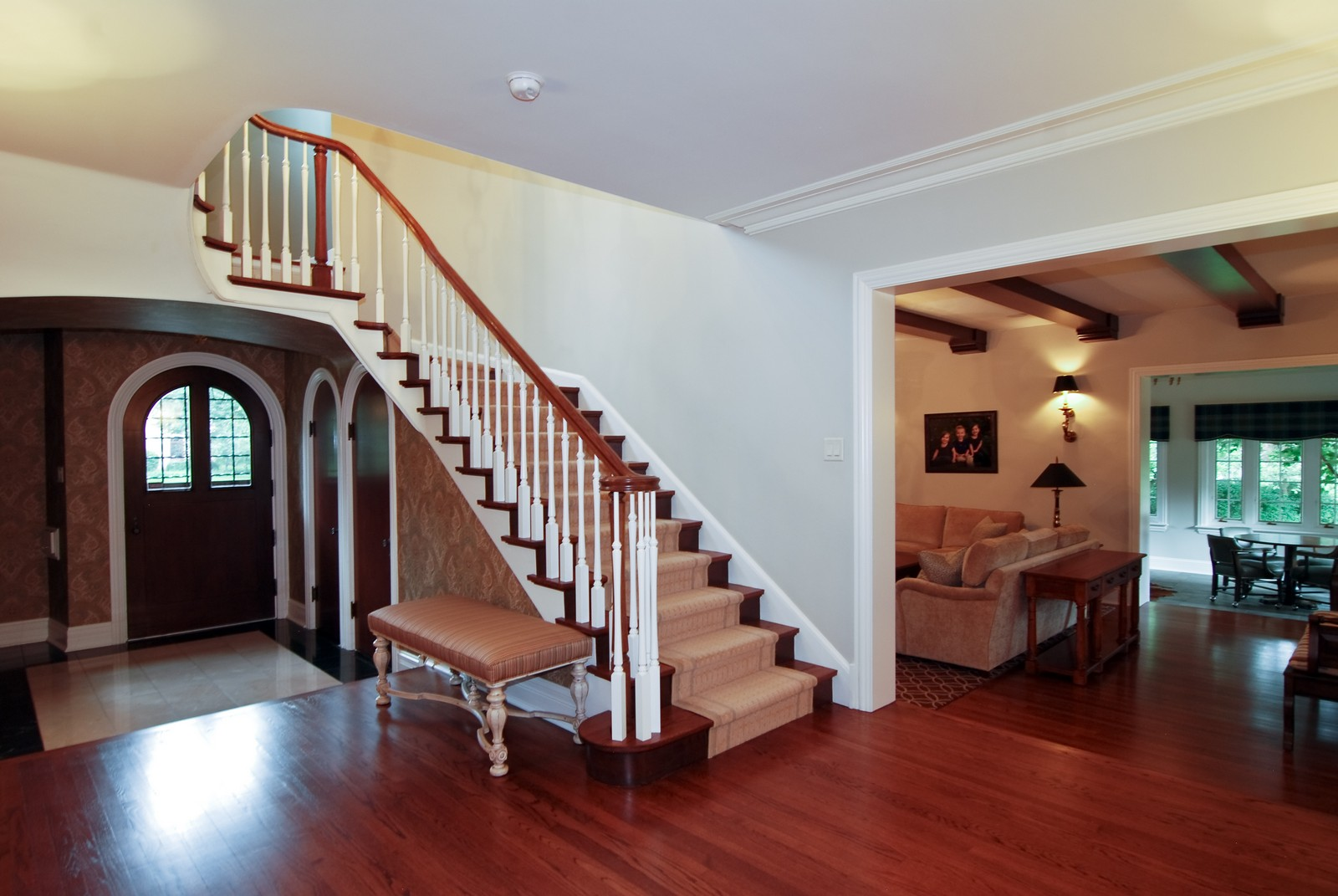 Real Estate Photography - 1105 Park Ave, River Forest, IL, 60305 - Foyer
