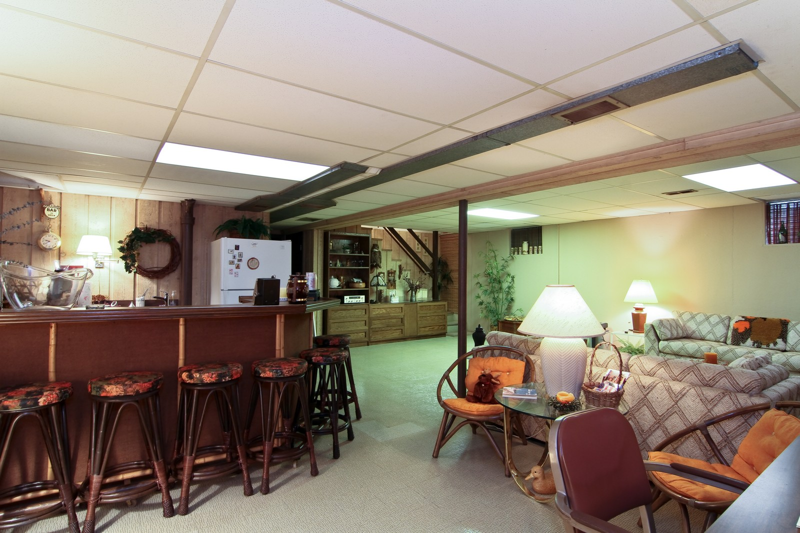 Real Estate Photography - 6801 Leonard Dr, Darien, IL, 60561 - Lower Level