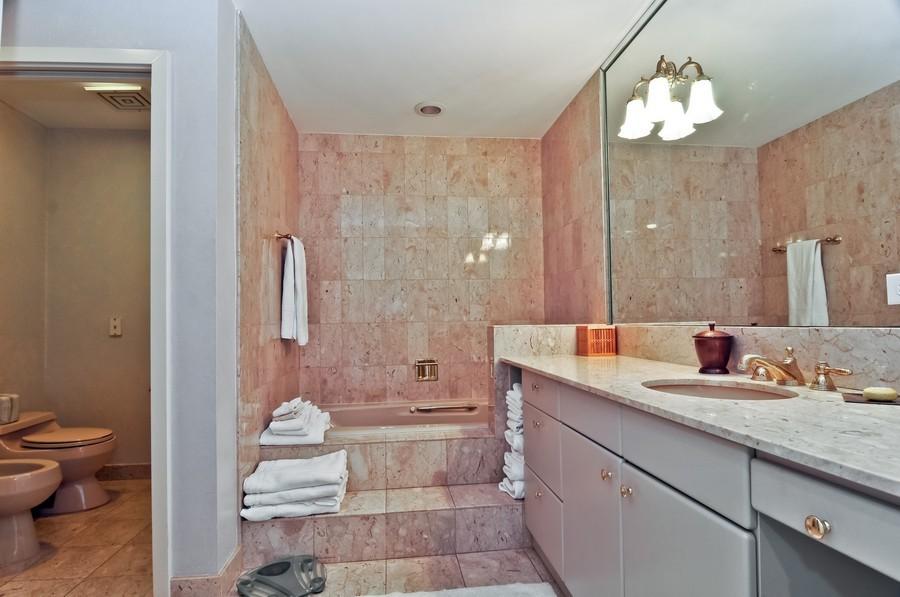 Real Estate Photography - 19213 Fisher Island Drive, Fisher Island, FL, 33109 - Master Bathroom