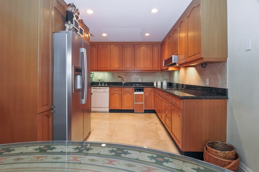 Real Estate Photography - 19213 Fisher Island Drive, Fisher Island, FL, 33109 - Kitchen / Breakfast Room