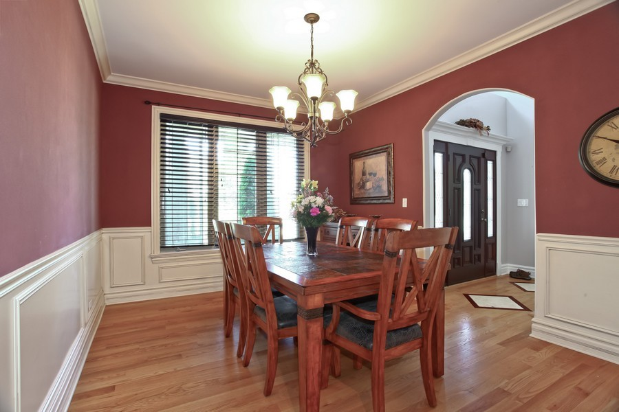 Real Estate Photography - 2529 W Kelly Dr, Woodridge, IL, 60517 - Dining Room