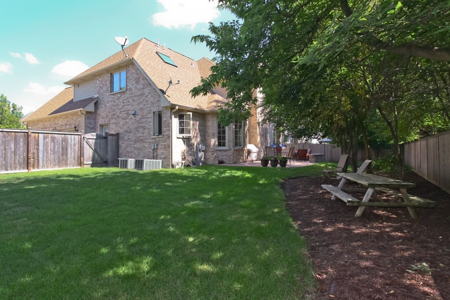 Real Estate Photography - 2529 W Kelly Dr, Woodridge, IL, 60517 - Rear View
