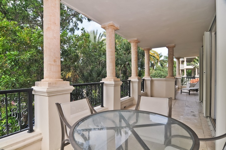 Real Estate Photography - 19227 Fisher Island Dr, Fisher Island, FL, 33109 - Terrace