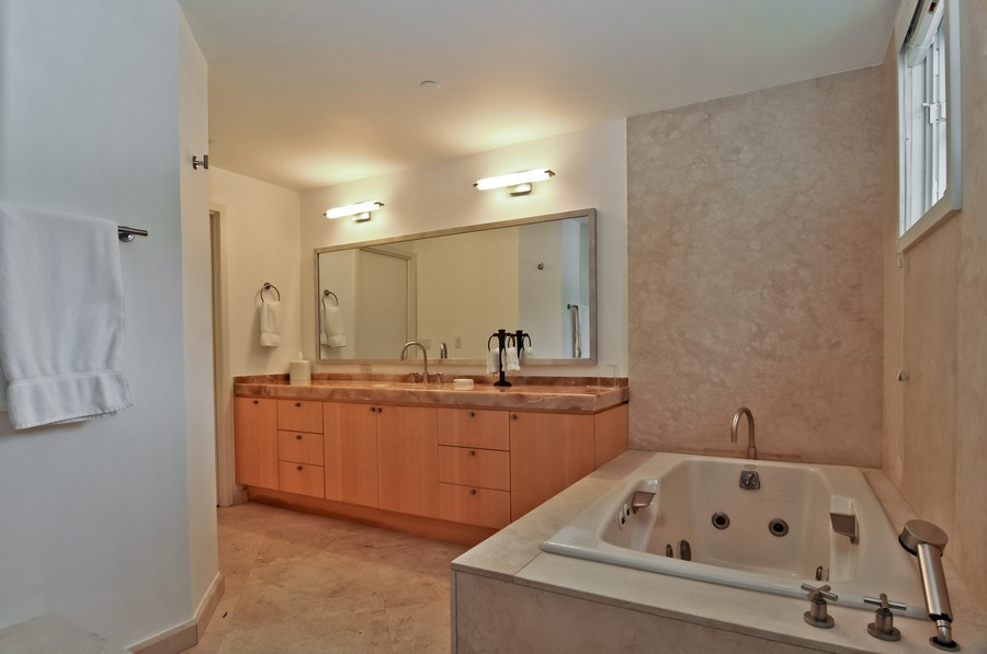 Real Estate Photography - 19227 Fisher Island Dr, Fisher Island, FL, 33109 - Master Bathroom