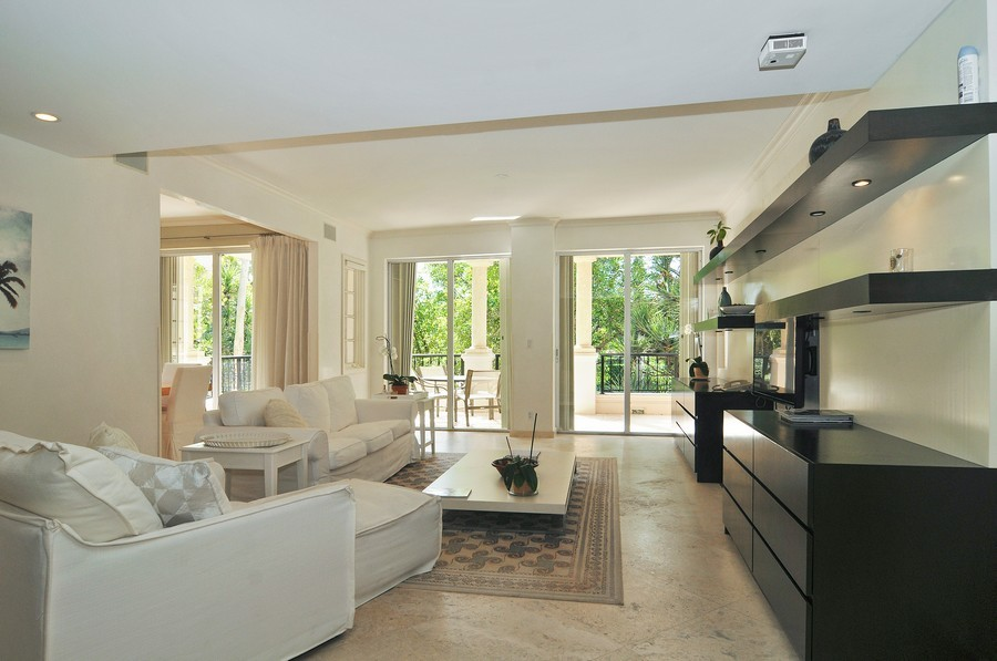 Real Estate Photography - 19227 Fisher Island Dr, Fisher Island, FL, 33109 - Living Room