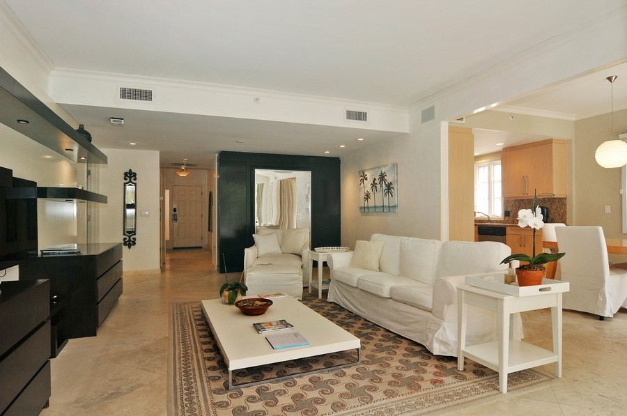 Real Estate Photography - 19227 Fisher Island Dr, Fisher Island, FL, 33109 - Great Room