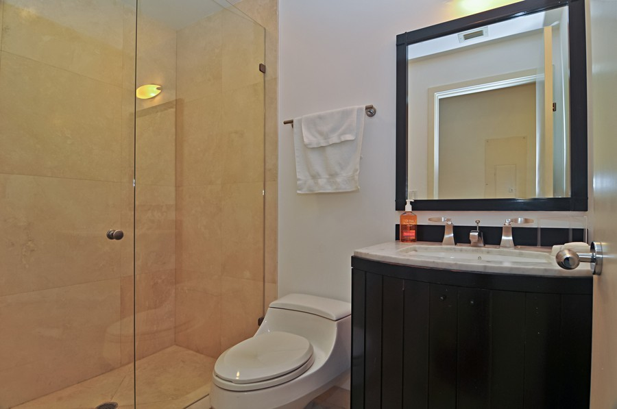Real Estate Photography - 19227 Fisher Island Dr, Fisher Island, FL, 33109 - 2nd Bathroom