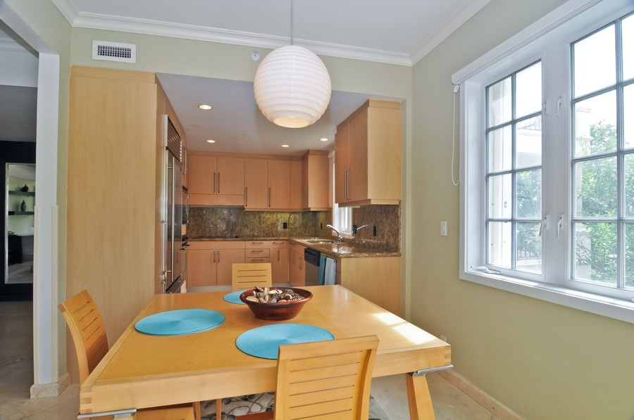 Real Estate Photography - 19227 Fisher Island Dr, Fisher Island, FL, 33109 - Kitchen / Dining Room