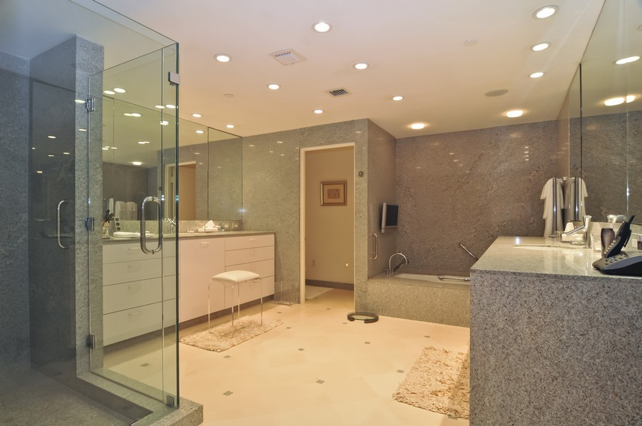 Real Estate Photography - 7915 Fisher Island Dr, Fisher Island, FL, 33109 - Master Bathroom
