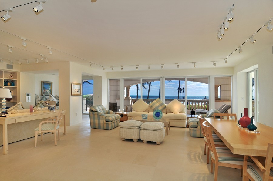 Real Estate Photography - 7915 Fisher Island Dr, Fisher Island, FL, 33109 - Great Room