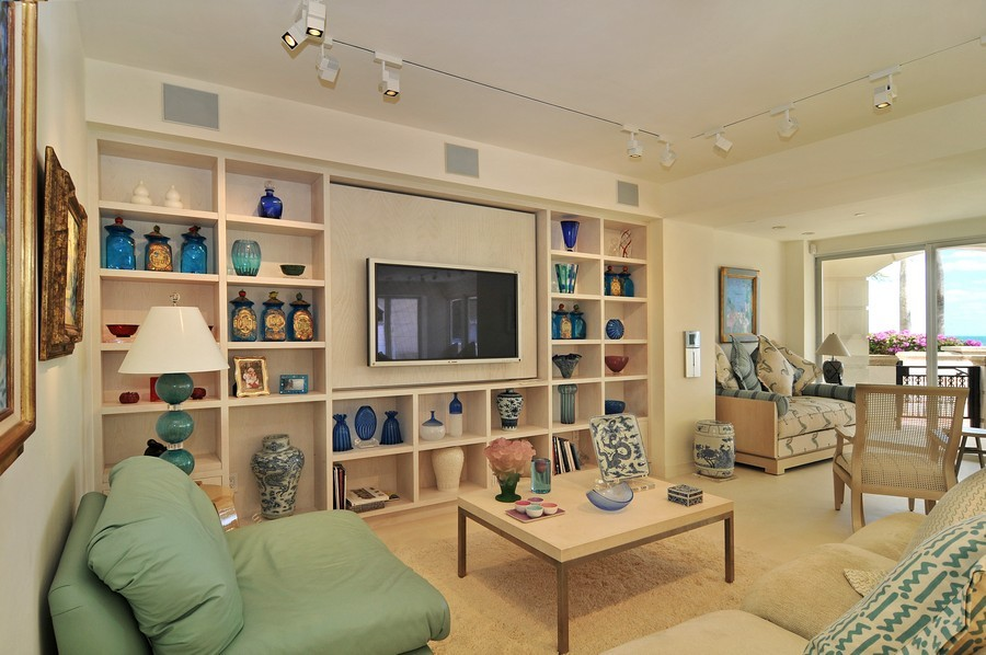 Real Estate Photography - 7915 Fisher Island Dr, Fisher Island, FL, 33109 - Family Room