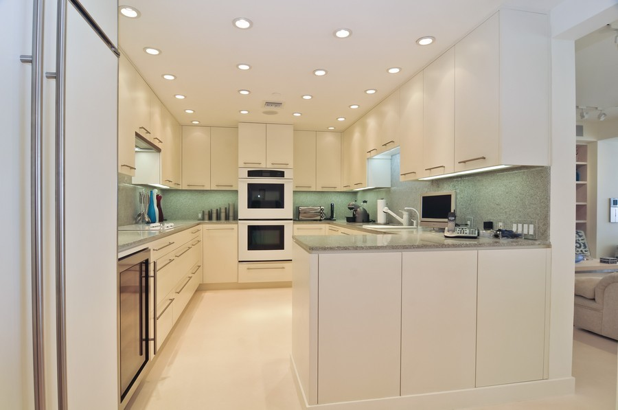Real Estate Photography - 7915 Fisher Island Dr, Fisher Island, FL, 33109 - Kitchen