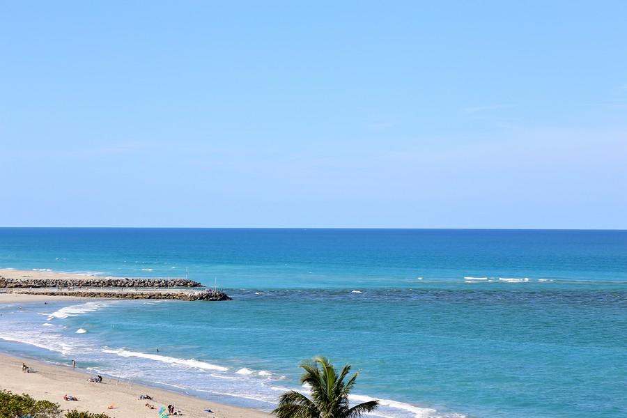 Real Estate Photography - 300 Ocean Trail Way, Apt 903, Jupiter, FL, 33477 - Ocean View