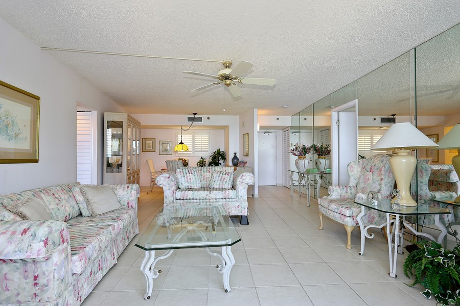 Real Estate Photography - 300 Ocean Trail Way, Apt 903, Jupiter, FL, 33477 - Living Room / Dining Room