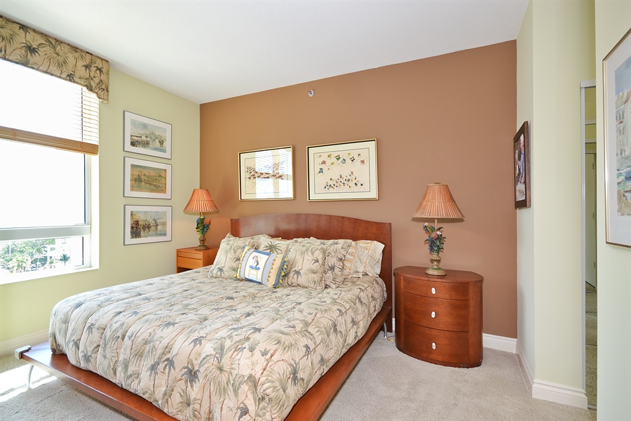Real Estate Photography - 3720 S Ocean Blvd, Apt 901, Highland Beach, FL, 33487 - 3rd Bedroom