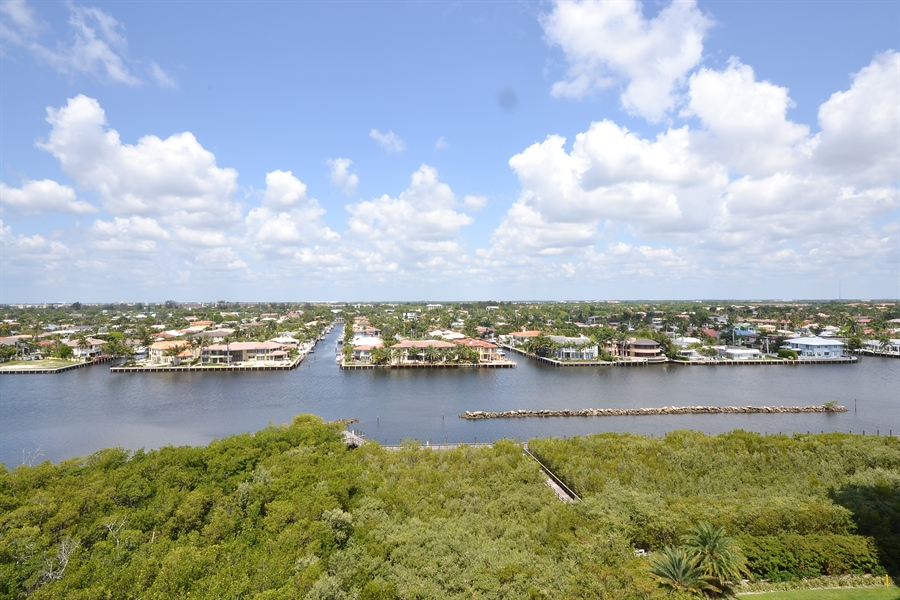 Real Estate Photography - 3720 S Ocean Blvd, Apt 901, Highland Beach, FL, 33487 - Intracoastal View