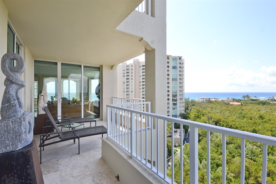Real Estate Photography - 3720 S Ocean Blvd, Apt 901, Highland Beach, FL, 33487 - Ocean View